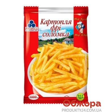 Фри соломка Рудь замороженная 1кг – ИМ «Обжора»