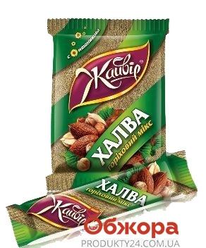 Халва Жайвир подсолнечная ореховый микс на фруктозе 160 г – ИМ «Обжора»