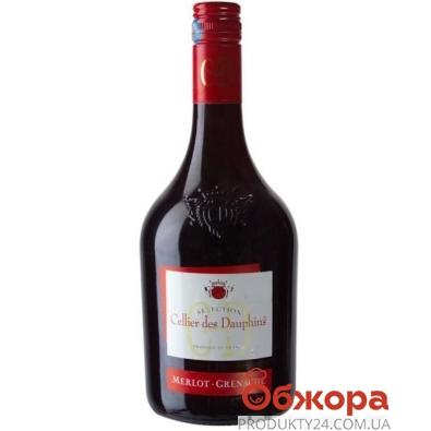 Вино Французское Келли дес Дафинс (Cellier des Danfins) Merlot / Grenache красное полусладкое 0,75 л. – ИМ «Обжора»