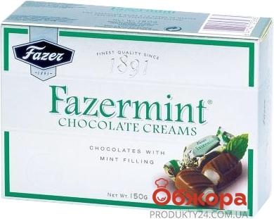 Конфеты Фазер (Fazer) Фазерминт с мятной начинкой 150г – ИМ «Обжора»