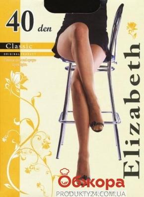 Колготки Элизабет (ELIZABETH) Classic 40 Nero 2 – ИМ «Обжора»