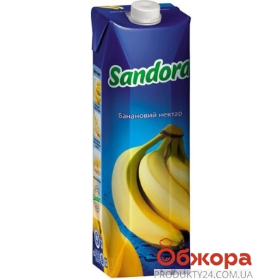 Сок Сандора (Sandora) банан 1 л. – ИМ «Обжора»