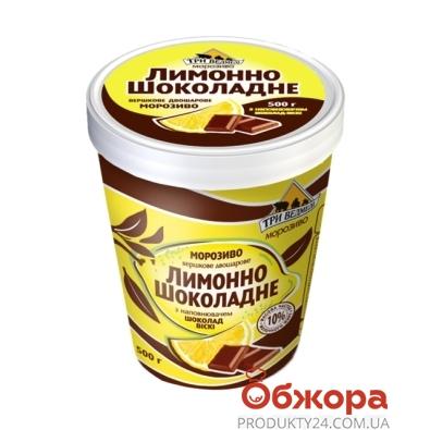 "Мороженое Три Медведя ""Пломбир"" шоколад-виски 500 гр. ведро – ИМ «Обжора»"