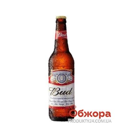 Пиво Бад (Bud) светлое 0.33 (ст.) – ИМ «Обжора»