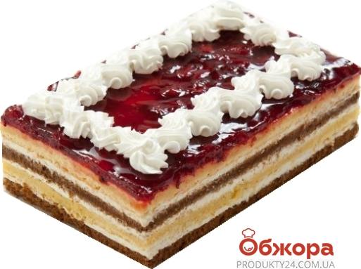 "Торт Мариам ""Вишня"" со сливками вес – ИМ «Обжора»"