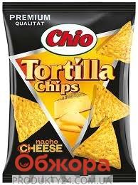 Чипсы Чио Тортиллас кукурузные 125 гр. с сыром – ИМ «Обжора»