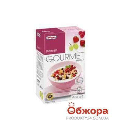 Мюсли Брюгген ягоды из концентрированного сока 375 г – ИМ «Обжора»