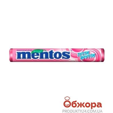 Конфеты Ментос (Mentos) Тутти-фрутти 37 г – ИМ «Обжора»