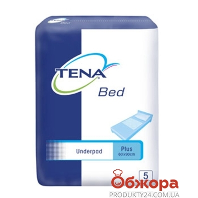 Пелёнки Тена (Tena) Bed Plus 60*90 5шт. – ИМ «Обжора»