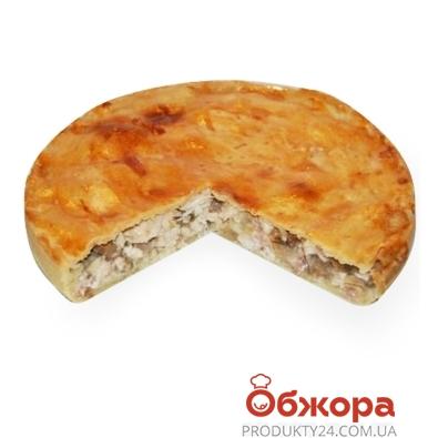 Пирог с курицей и грибами – ИМ «Обжора»