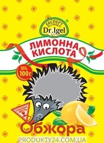 Лимонная кислота Д-р Игель (Dr. Igel) 100 г. – ИМ «Обжора»