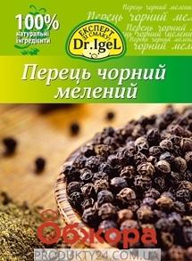 Перец черный Д-р Игель (Dr. Igel) молотый 20 г. – ИМ «Обжора»