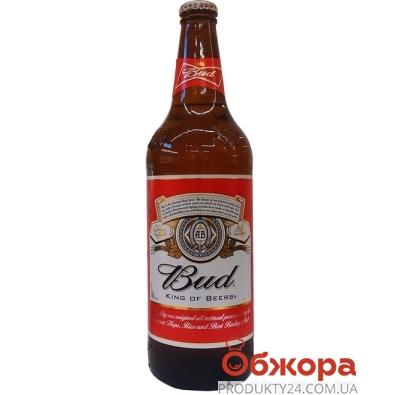 Пиво Бад (Bud) светлое 0,75 л. стекло – ИМ «Обжора»