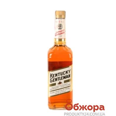 Виски Кентукки Джентльмен (Kentucky) бурбон 0,75 л. 40% – ИМ «Обжора»