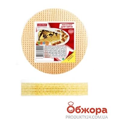 Вафельные изделия Лекорна коржи для торта 65 г – ИМ «Обжора»