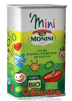 Оливковое масло Монини Детское Extra Virgin 0,5 л. ж/б – ИМ «Обжора»