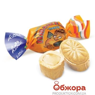 Конфеты Конти Пташка карамель весовые – ИМ «Обжора»