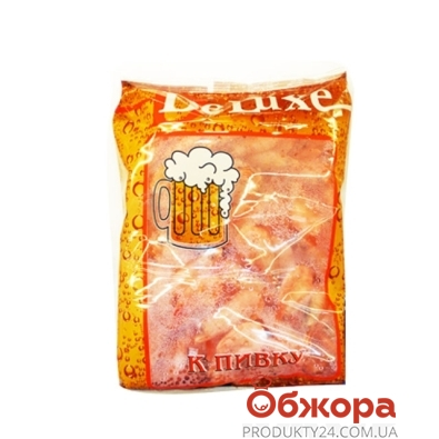 Креветки замороженные Ваннамей De Luxe к пивку 90/120 900 г – ИМ «Обжора»