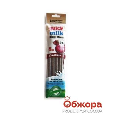 Трубочки Квит Милк Шоколад 5 шт – ИМ «Обжора»