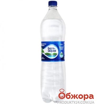 Вода Бонаква (BONAQUA) 1.5 л. газированная – ИМ «Обжора»