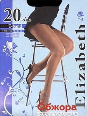 Колготки Элизабет (ELIZABETH) T-band 20 Nero 4 – ИМ «Обжора»