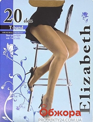 Колготки Элизабет (ELIZABETH) T-band 20 Visone 3 – ИМ «Обжора»