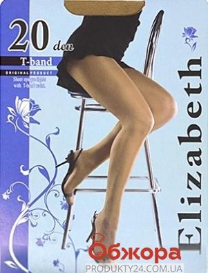 Колготки Элизабет (ELIZABETH) T-band 20 Visone 4 – ИМ «Обжора»