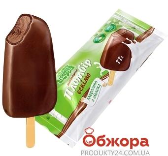 Мороженое Белая береза Пломбир в шоколадной глазури эскимо 77 г – ИМ «Обжора»