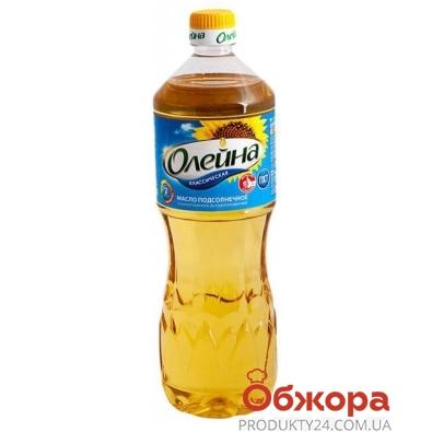Подсолнечное  масло Олейна 0,5 л – ИМ «Обжора»
