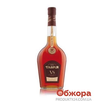 Коньяк Таврия VS 0,5 л. – ИМ «Обжора»