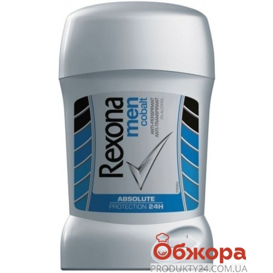 Дезодорант - стик Рексона (REXONA) Кобальт 55 г – ИМ «Обжора»