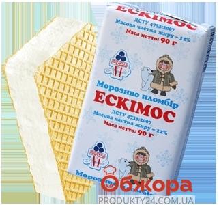 Мороженое Рудь Эскимос 90г брикет – ИМ «Обжора»