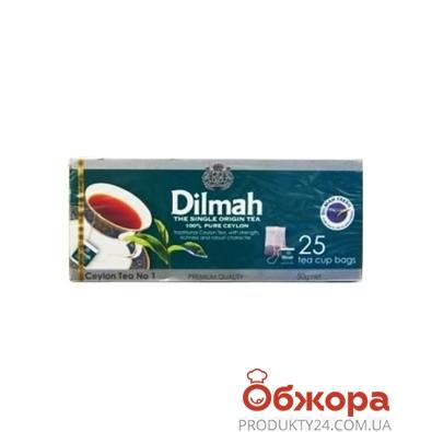 Чай Дилмах (Dilmah) Премиум 25 п – ИМ «Обжора»