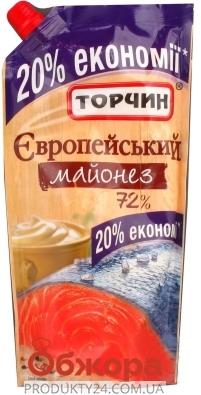 Майонез Торчин 380 гр. Европейский дой-пак – ИМ «Обжора»