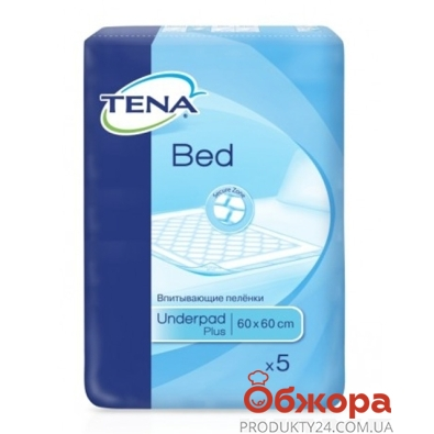 Пелёнки Тена (Tena) Bed Plus 60*60 5шт. – ИМ «Обжора»