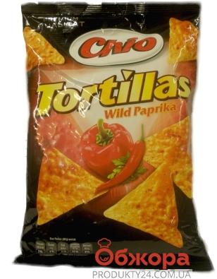 Чипсы Чио (Chio) Тортиллас Кукурузные с паприкой и острым перцем 125 г – ИМ «Обжора»
