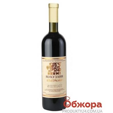 Вино грузинское Шуми (Shumi) Мукузани красное сухое 0,75 л – ИМ «Обжора»