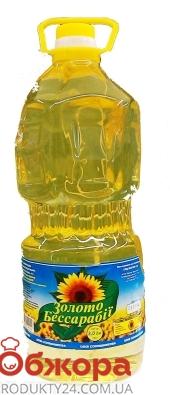 Масло Золото Бессарабии 3л подсолнечное раф. – ИМ «Обжора»