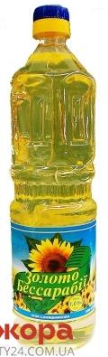 Подсолнечное масло Золото Бессарабии рафинированное 1 л – ИМ «Обжора»