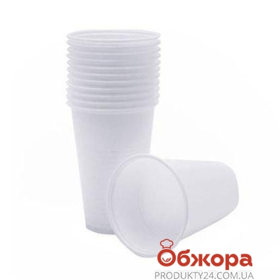 Стакан Пластик Одноразовый 200 мл 6 шт – ИМ «Обжора»