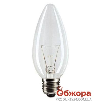 Лампочка Филипс (Philips) B35 60w E14 прозрачная – ИМ «Обжора»