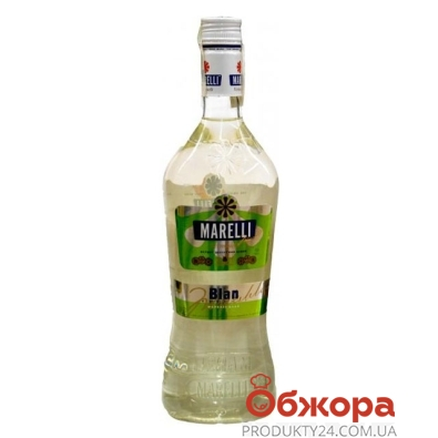 Вермут Марелли (Marelli) Блан белый десертный 1 л – ИМ «Обжора»