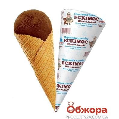 Мороженое Рудь Рожок Эскимос шоколадное 110 г – ИМ «Обжора»