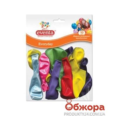 Шарики воздушные  Эвента (EVENTA) разноцветные D30 cм. 10 шт. – ИМ «Обжора»