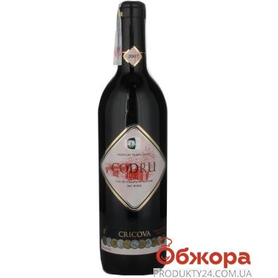 Вино Криково (Cricova) марочное Кодру 0.7 л. красное – ИМ «Обжора»