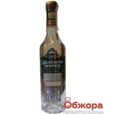 Водка Главспирттрест Кедровая 0,375 л – ИМ «Обжора»