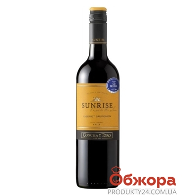 Вино Санрайз (Sunrise) Каберне Совиньйон 0,75 л – ИМ «Обжора»