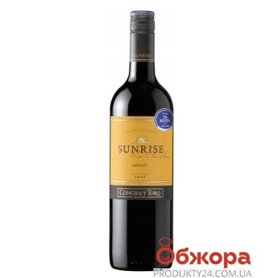 Вино Санрайз (Sunrise) Мерло 0,75 л – ИМ «Обжора»