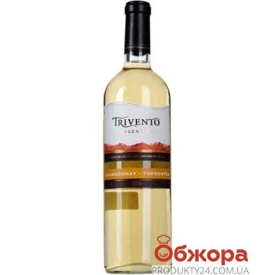 Вино Аргентина Тривенто  Шардоне 0.75 л. – ИМ «Обжора»