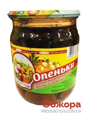 Опята Бабушкин урожай маринованные 500 г – ИМ «Обжора»